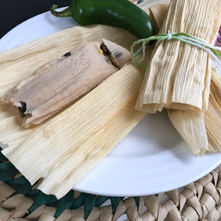 Instant Pot Black Bean and Corn Tamales