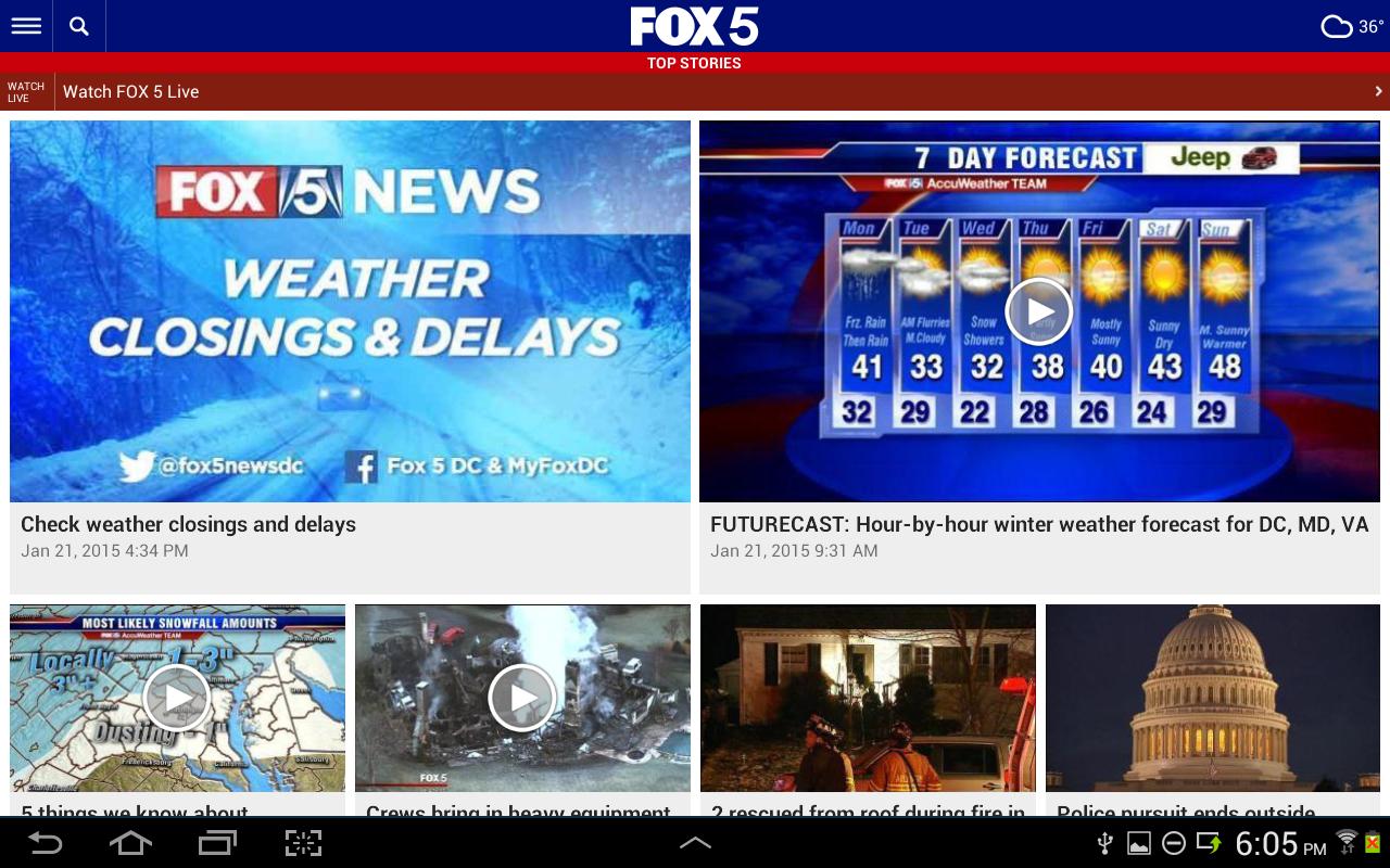 FOX 5: Washington DC News & Alerts 5.15 ...