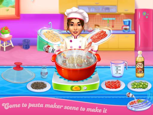 Make pasta cooking kitchen apktram screenshots 1