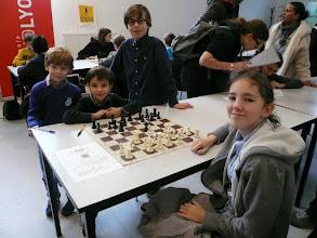Photo: l'équipe du 13 dec, Lara, Arthur, Hippolyte et Martin