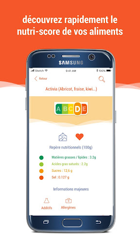 Scan Eat - Scanner alimentaire pour mieux manger  screenshots 5