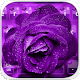 Download Purple Rose Keyboard Theme For PC Windows and Mac 10001001
