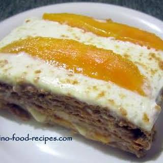 Mango Graham Cake.