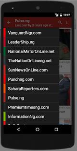 Nigeria : Latest News - náhled
