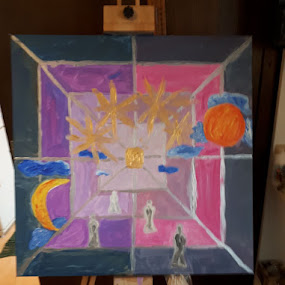 Travel to unity by Iztok Conic - Painting All Painting