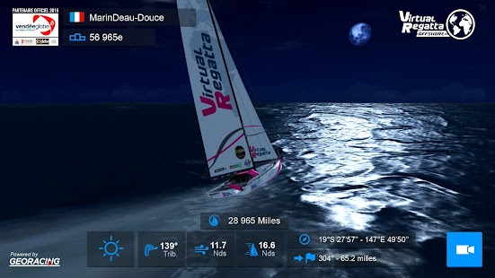 Virtual Regatta Offshore Capture d'écran