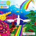 Unicorn Dash Fly Pegasus 3D HD icon