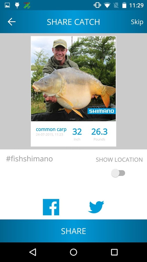 Fish Shimano- screenshot