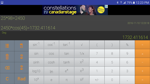 Calculator Pro app (apk) free download for Android/PC/Windows screenshot