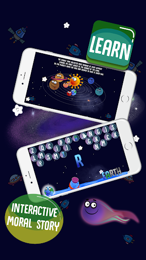Solar Family - Planets of Solar System for Kids  screenshots 3