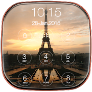 Paris Keypad Lockscreen APK for Bluestacks