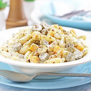 Dill Pickle Pasta Salad.