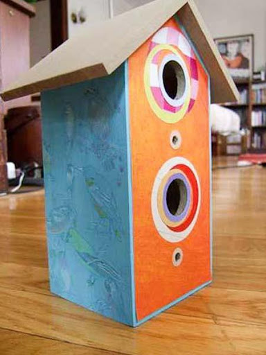 DIYの巣箱デザインのアイデア