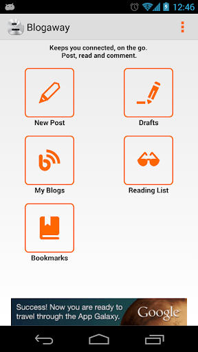 Blogaway for Android (Blogger) 7.0.8 screenshots 1