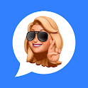 MEMOJI Stickers 3D & Big Emojis - WAStickerApps icon