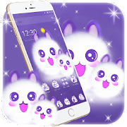 Cute Fluffy Kitten Kawaii Cat Theme‏