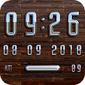 OSLO Digital Clock Widget icon