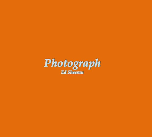 Photograph Lyrics