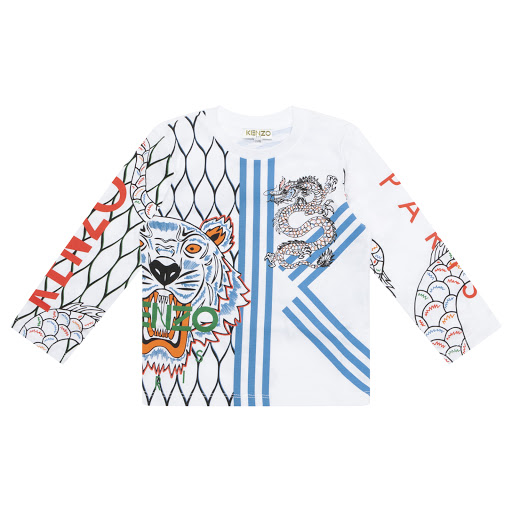 Primary image of Kenzo Kids Boys Long Sleeved Top