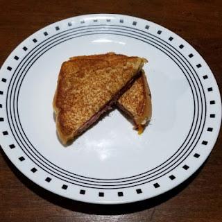 Honey Mustard and Honey Ham Grilled Cheese Sandwich Recipe