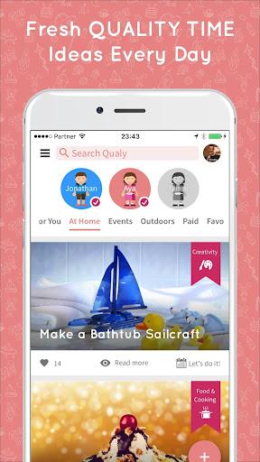 玩免費遊戲APP|下載Qualy Kids - Family Time Ideas app不用錢|硬是要APP