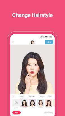 Hairfit - k-pop hairstyle simulatorのおすすめ画像2