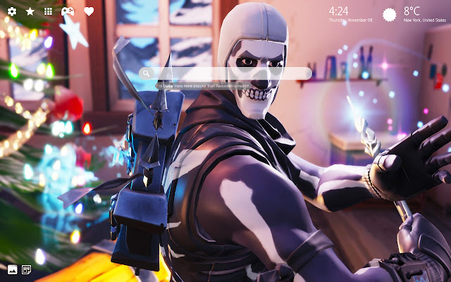 Skull Trooper Fortnite Skin Wallpaper Hd