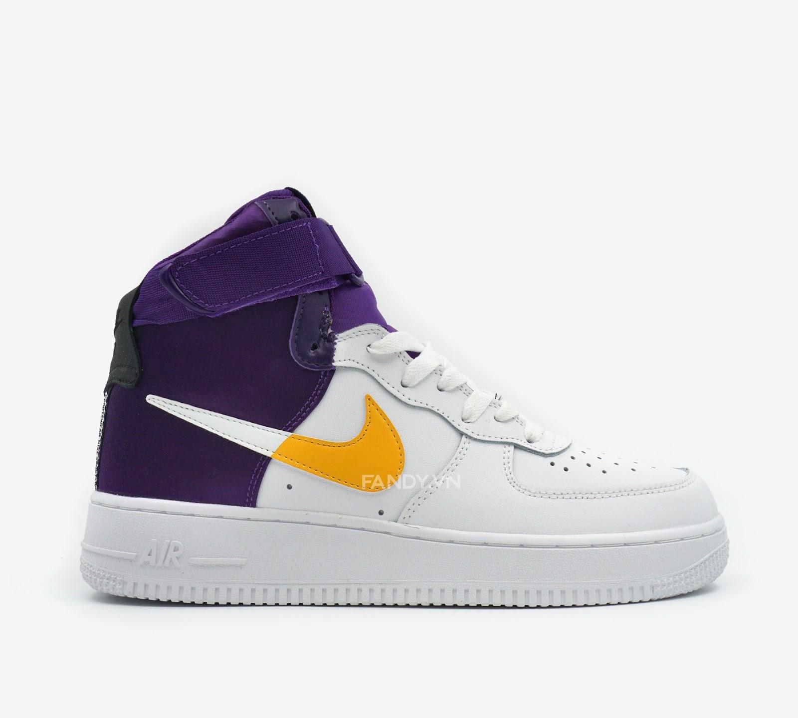 "Giày Nike Air Force 1 High NBA ""Lakers"""