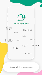 WhatsBubble Screenshot