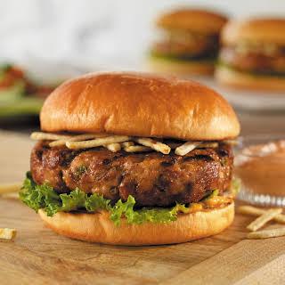 Cuban-Style Pork Burgers.