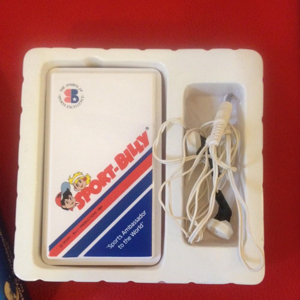 Vintage radiolina Sport Billy con scatola