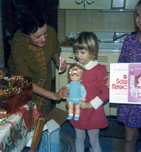 Photo: Grandma came through with a little Sew Magic, Barbie Fashion Set.
