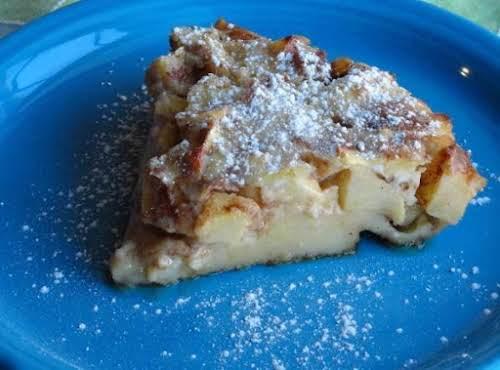"Baked Custard Pancake ""I just made this morning and I've eaten 1/3..."