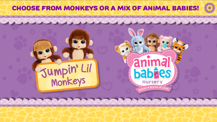 Animal Babies Nursery - screenshot