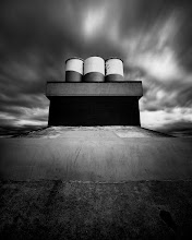 """Photo: """"Iona Jetty Exhausts"""" - http://www.createwithlightphotography.com  This is a 70 second exposure of the exhaust stack at the end of the Iona Jetty in the Strait of Georgia in Vancouver.  I treated myself to the Zeiss Sony 16-35mm lens before my trip to San Francisco in May and boy oh boy is it one amazing piece of glass. THe extra width it provides is giving me bunch of creative options. This image would have been very different at 24mm wide, as opposed to the 17mm I was able to shoot at.  Iona Jetty is a 4km long breakwater, that stretches into the Strait of Georgia, in Vancouver. You can or bike on the jetty, which is pretty cool. I went out there again in the middle of June and cycled to the end of the jetty, as walking a total of 8kms with a backpack full of heavy photographic gear is not a lot of fun!!  The techie Stuff:  ISO: 100 Aperture: f/9 Exposure: 70 seconds Focal Length: 17mm Filters: Hitech Pro 10 stop ND filter, Lee 2 stop soft grad ND filter  This is my contribution to the #LongExposureThursday theme, kindly curated by +Francesco Gola and +Le Quoc , the #FineArtPls theme, curated by the lovely +Marina Chen and +Fineao Fang , the #BWFineArtLE theme, curated by the amazing Mr +Joel Tjintjelaar and +Black and White Fine Art Photography Gallery , #RectanglesAreSexy curated by my fabulous friend +Athena Carey , the #DeneMilesIsFabulous theme, curated by my awesome muse, friend and supporter +dene' miles and finally the #PlusPhotoExtract theme, run by the awesome +Jarek Klimek  All thoughts and comments welcome.  Please visit my website to view more of my images: http://www.createwithlightphotography.com  #PlusPhotoExtract #GrantMurray #GrantMurrayPhotography #BWFineArtLE #FineArtPls #bwfineartlehandpicked"""