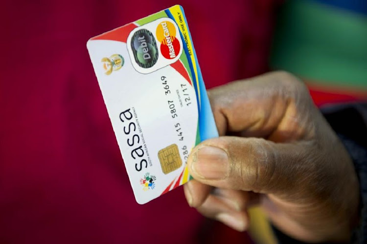 SASSA card: File Photo