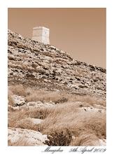 Photo: Ħamrija Tower near Mnajdra