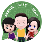 Your personal cartoon video - Gif app for whatsapp icon