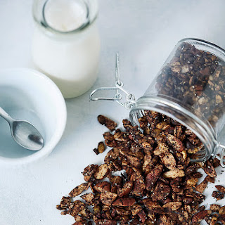 Chocolate Coffee Keto Granola {Grain-Free, Gluten-Free, Paleo} Recipe