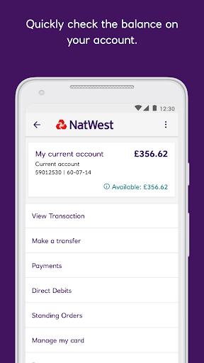 NatWest Mobile Banking  screenshots 2