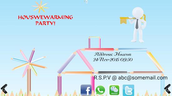 Housewarming Invitation Maker Apps on Google Play