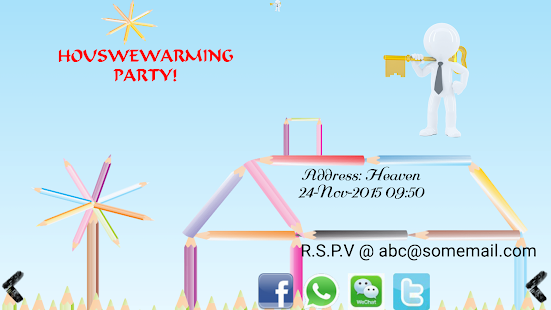 Housewarming Invitation Maker Android Apps On Google Play