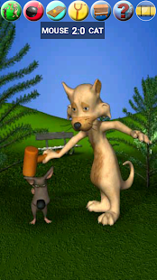 Talking Cat Vs. Mouse- screenshot thumbnail