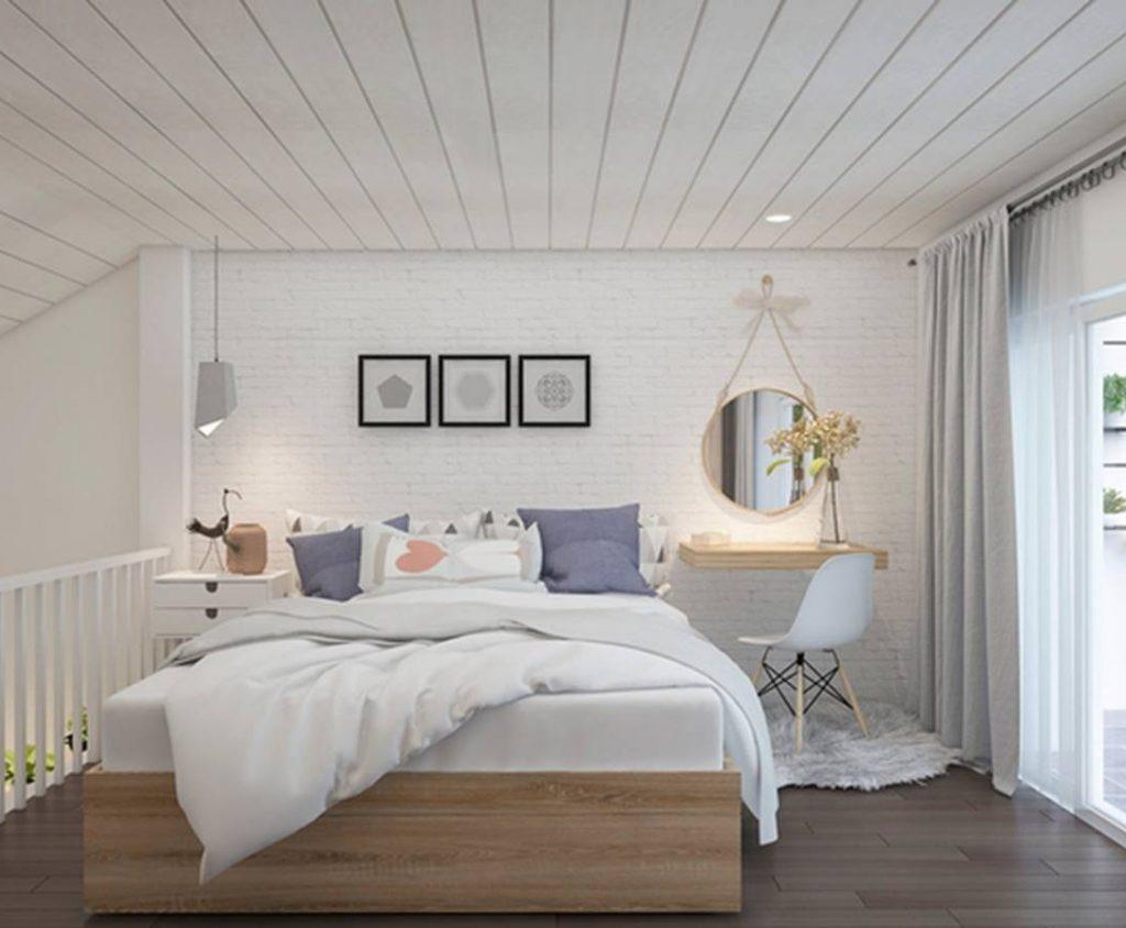 Phòng ngủ nên sơn màu gì 2