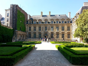Photo: Hotel de Sully, a private mansion in the Louis XVIII style.
