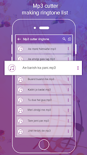 Download MP3 Cutter & My Name Ringtone Maker For PC Windows and Mac apk screenshot 2