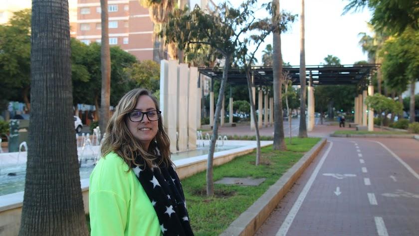 Selene Ramírez, en Almería