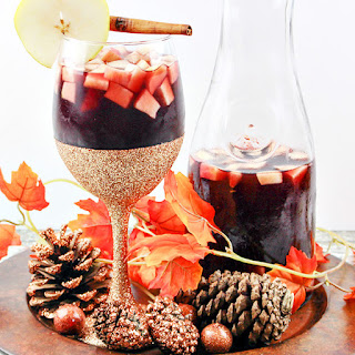 Autumn Apple & Pear Sangria.