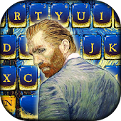 Van Gogh keyboard Theme