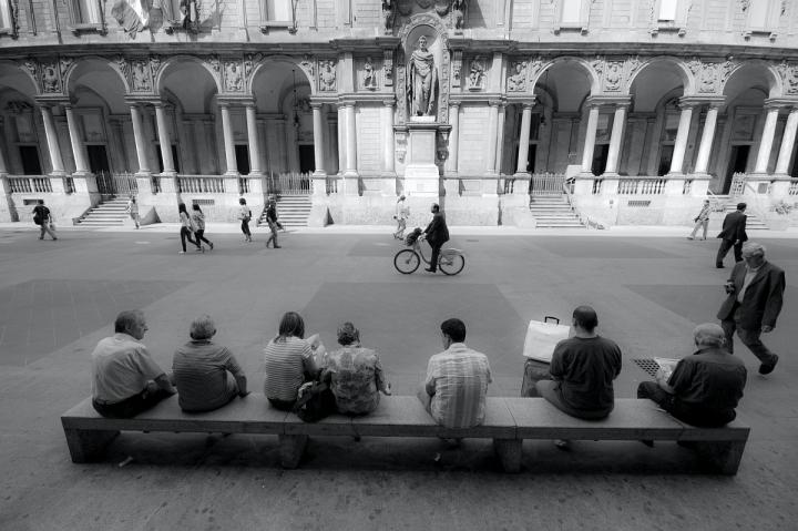 Passeggio e relax. di Paolo Zanoni